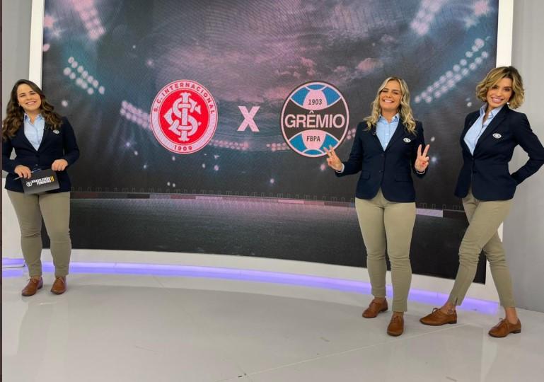 A era das mulheres em transmissões de futebol